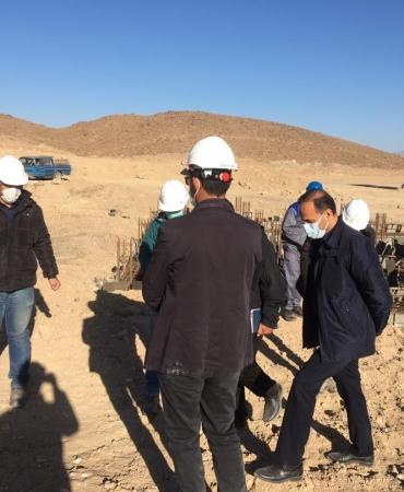 بازدید جناب آقای مهندس نیازیان مدیر عامل محترم شرکت ماناساز از گارگاه مجتمع تعمیرگاهی معدن کارآوران زرند