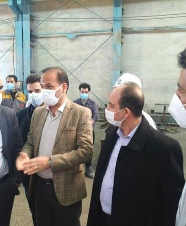 بازدید اعضای محترم هیئت مدیره شرکت ماناساز از کارخانه آبیک