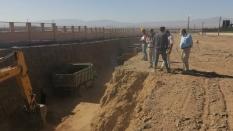 پروژه انتقال کک گداخته زرند کرمان