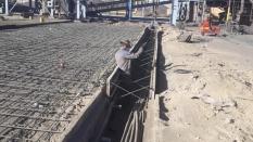 پروژه پارت دوم کف سازی گندله فولاد سیرجان ایرانیان